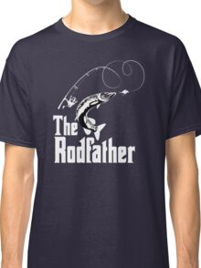 The Rodfather Fishing T Shirt Classic T-Shirt