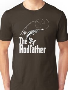 The Rodfather Fishing T Shirt Unisex T-Shirt