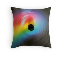 In a Spin Throw Pillow