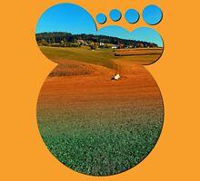 Colorful farmland scenery | landscape photography Unisex T-Shirt