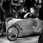 Top of the Hill, Portland Adult Soapbox Derby by Pete Janes