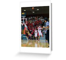 Buzzer Beater - Marist College, NY Greeting Card