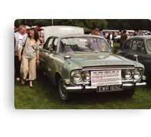 Ford Zodiac Mk 111 1965 Canvas Print