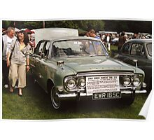 Ford Zodiac Mk 111 1965 Poster