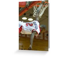 Dunked - Marist College, NY Greeting Card