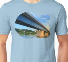 Bridge across the river Danube II | architectural photography Unisex T-Shirt