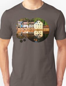 River reflections at the mill | waterscape photography T-Shirt