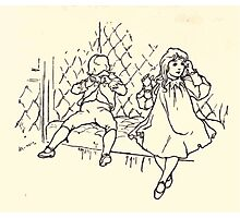 The Zankiwank & the Bletherwitch by Shafto Justin Adair Fitz Gerald art Arthur Rackham 1896 0205 All a Dream Photographic Print