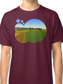 Hot summertime hiking trail | landscape photography Classic T-Shirt