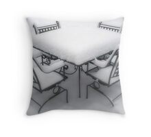Table For Four Throw Pillow
