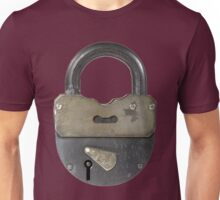 Closed lock Unisex T-Shirt