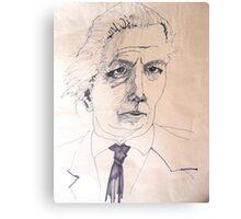 Portrait Study 44. Canvas Print