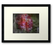Finally Home Red Framed Print