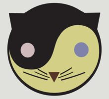 Yin Yang Kitty T-Shirt by simpsonvisuals