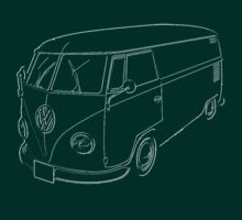 VW Kombi Commercial panel van by frenzix