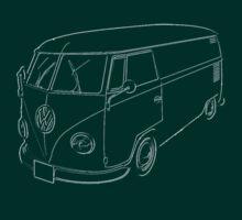 VW Kombi Commercial panel van by frenzix