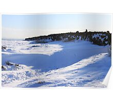 snow drift alluring Poster