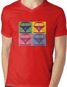 Kombi Retro Shirt Large design Mens V-Neck T-Shirt