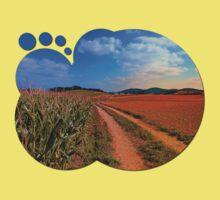 Hiking trail into beautiful scenery II | landscape photography Baby Tee