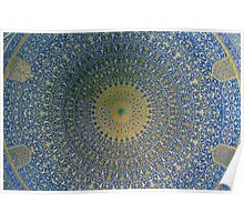 Esfahan The Emam Mosque Poster