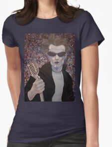 Portrait of Punk Womens Fitted T-Shirt