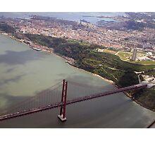over Lisbon Photographic Print
