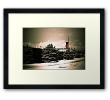 Valley Camp - A Freighter Museum Framed Print