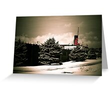 Valley Camp - A Freighter Museum Greeting Card