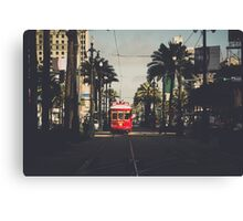 Canal St. Canvas Print