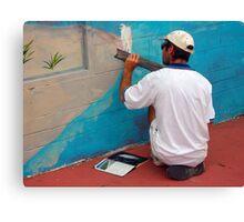 The Art of Art Canvas Print