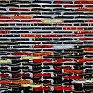 Guitars Wall by Luca Renoldi