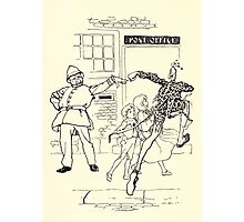The Zankiwank & the Bletherwitch by Shafto Justin Adair Fitz Gerald art Arthur Rackham 1896 0141 Post Office Photographic Print