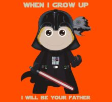 When I grow up, I will be your father Kids Clothes