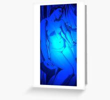 Nude/ Homage to Tamara DeLempicka Greeting Card