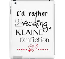 Klaine Fanfiction iPad Case/Skin