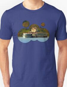 Cruise ship on the river Danube | waterscape photography T-Shirt