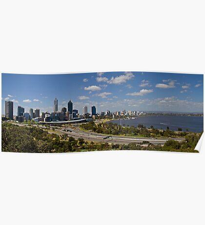 Perth Panorama Poster