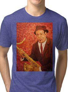 Portrait of Jazz Tri-blend T-Shirt