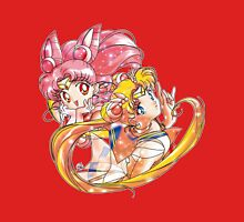Super Sailor Moon & Chibi Moon (edit 2/A) Unisex T-Shirt