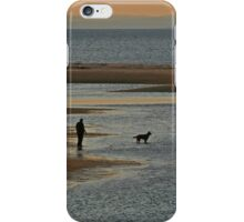 Sunset Dog Walk iPhone Case/Skin