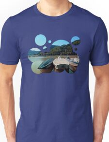 Boats in the harbour III | waterscape photography Unisex T-Shirt