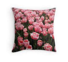 Tulips of Istanbul-TURKEY Throw Pillow