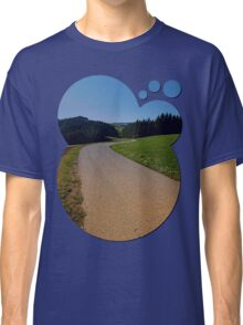 Country road through rural scenery II | landscape photography Classic T-Shirt