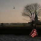 Lady Liberty at Dusk by Susan Russell
