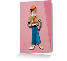 mannikin Greeting Card