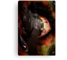 Hotel California - Collab with Jacqui (vampvamp) Canvas Print