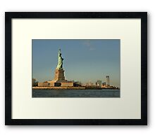 Welcome to the USA Framed Print