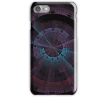 Tech Tunnel Time Wheel iPhone Case/Skin