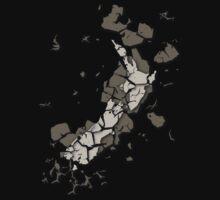 Cracked New Zealand by Jesse Bisset