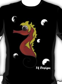 """Seahorse"" underwater series (Kids Art) T-Shirt"